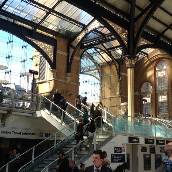 Photo taken at London Liverpool Street Railway Station (ZLS) by Яна К. on 5/2/2013