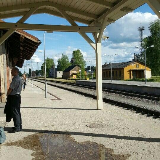Photo taken at Tartu Raudteejaam by laazik on 5/28/2015