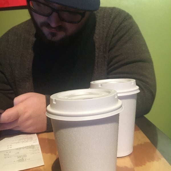 Photo taken at Rivertown Coffee by Jessica D. on 1/3/2017