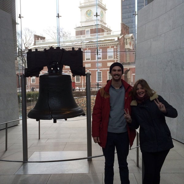 Photo taken at Liberty Bell Center by Gaspar on 3/7/2014