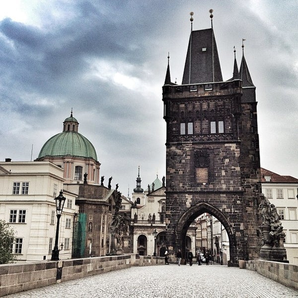 Photo taken at Karlův most | Charles Bridge by Jose Maria C. on 6/15/2013