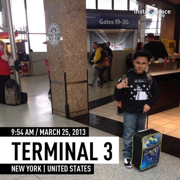 Photo taken at Terminal 3 by J Dot on 3/25/2013
