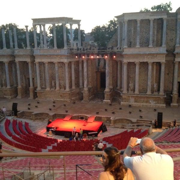 Photo taken at Anfiteatro Romano by Maryan G. on 7/18/2013