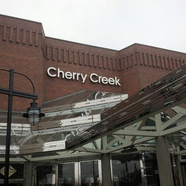 Cherry Creek Shopping Center, also known as Cherry Creek Center, is a shopping mall about three and half miles southeast of downtown Denver, Colorado in the Cherry Creek Neighborhood. It is situated along East First Avenue on the banks of Cherry Creek.