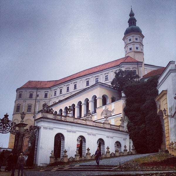 Photo taken at Zámek Mikulov by Michaela P. on 10/6/2013