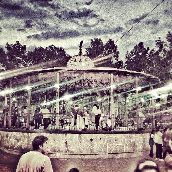 Photo taken at Jardín Hidalgo by Tere C. on 3/30/2013