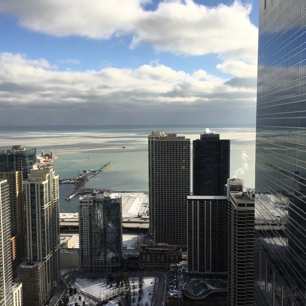 Photo taken at Aon Center by Dmytro K. on 2/10/2016