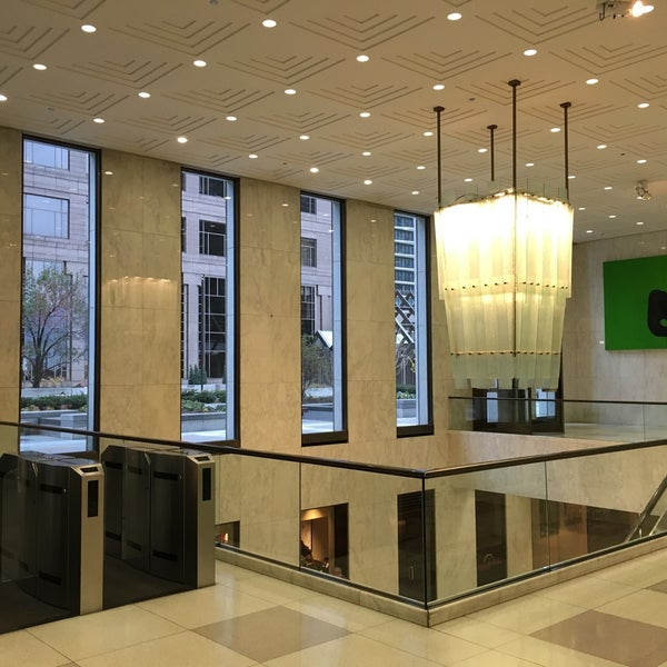 Photo taken at Aon Center by Dmytro K. on 11/18/2015