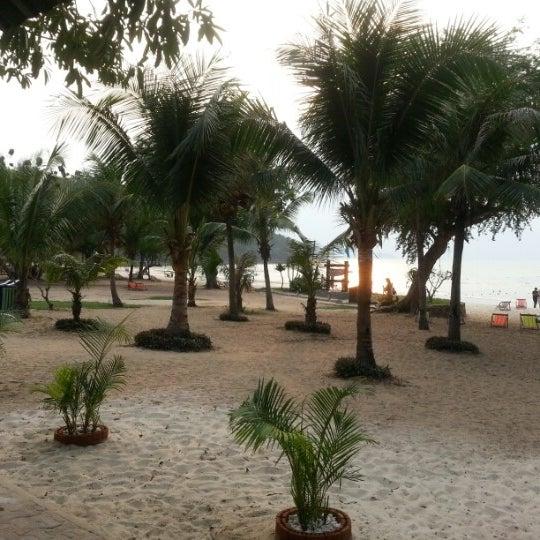 Photo taken at Sai Keaw Beach by Aleksandr S. on 2/5/2013