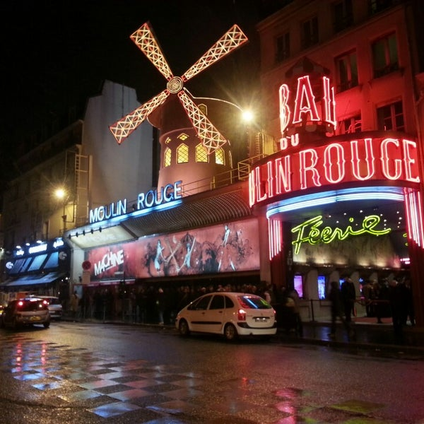 Photo taken at Moulin Rouge by Eldar G. on 2/24/2013