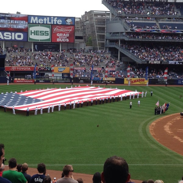 Photo taken at Yankee Stadium by Chris H. on 7/13/2013