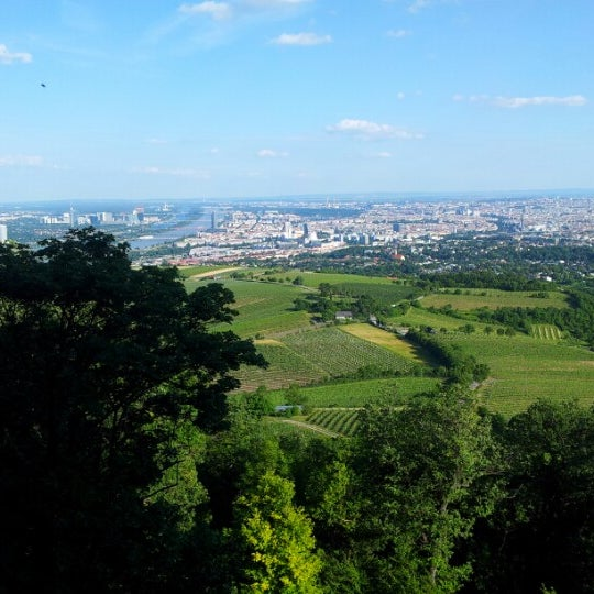 Photo taken at Kahlenberg by Beck T. on 6/7/2012