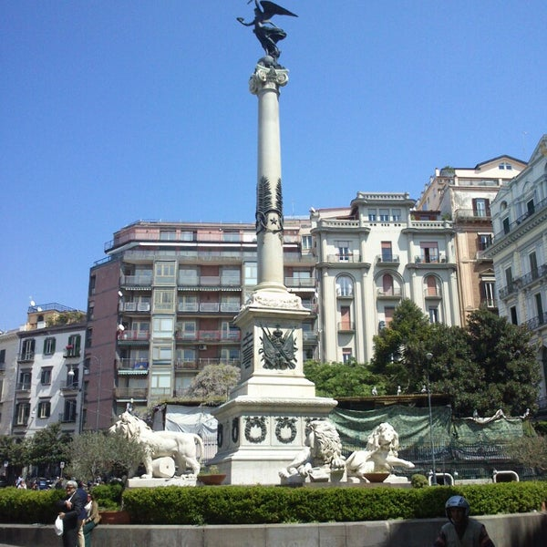 Photo taken at Piazza dei Martiri by Andrea U. on 4/20/2013