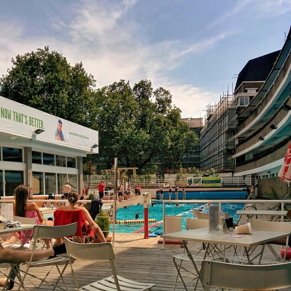 Oasis Outdoor Swimming Pool Holborn And Covent Garden London Greater London