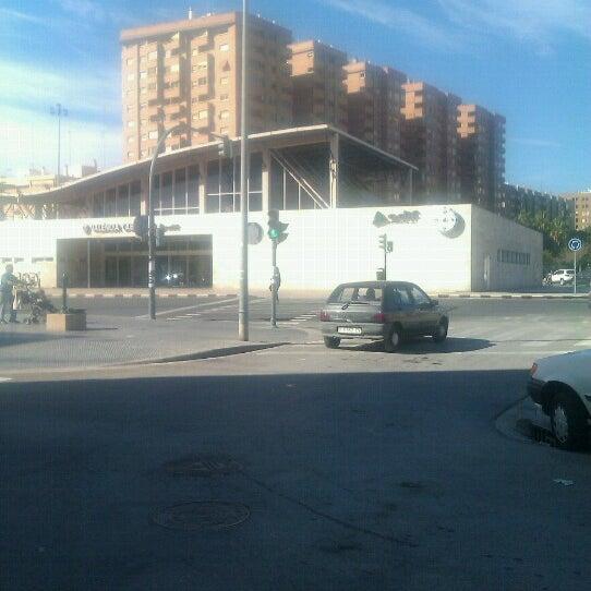 Photo taken at Estació de Tren - València-Cabanyal by Paz N. on 10/22/2012