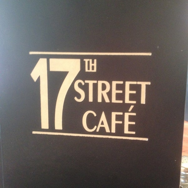 Th Street Cafe Lunch Menu