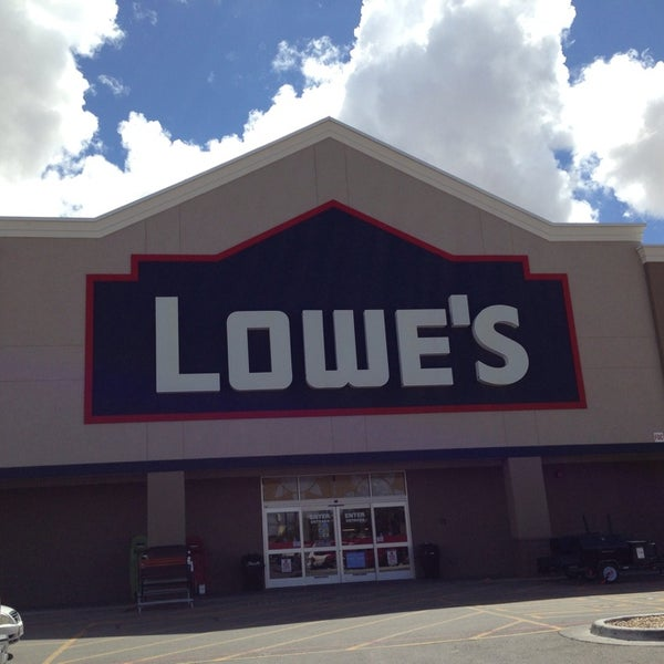 Lowe 39 S Home Improvement El Paso Tx