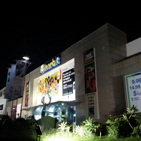 Photo taken at Inorbit Mall by Glen H. on 10/13/2012