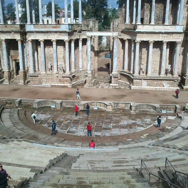 Photo taken at Anfiteatro Romano by Pedro V. on 4/1/2013