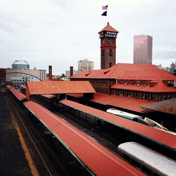 Photo taken at Union Station Amtrak (PDX) by Jonny B. on 10/16/2012