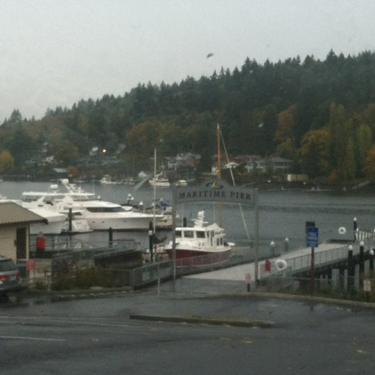 Photo taken at Gig Harbor Waterfront by Jim N. on 10/27/2012
