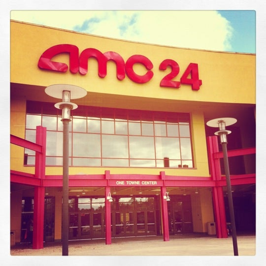 Photo taken at AMC Hampton Towne Centre 24 by Paul G. on 11/3/2012