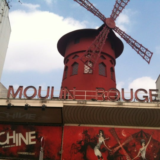Photo taken at Moulin Rouge by Maria I. on 3/29/2013