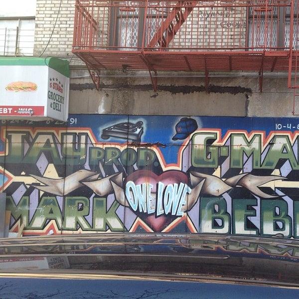 Photos at big pun memorial mural west bronx 910 rogers for Big pun mural bronx