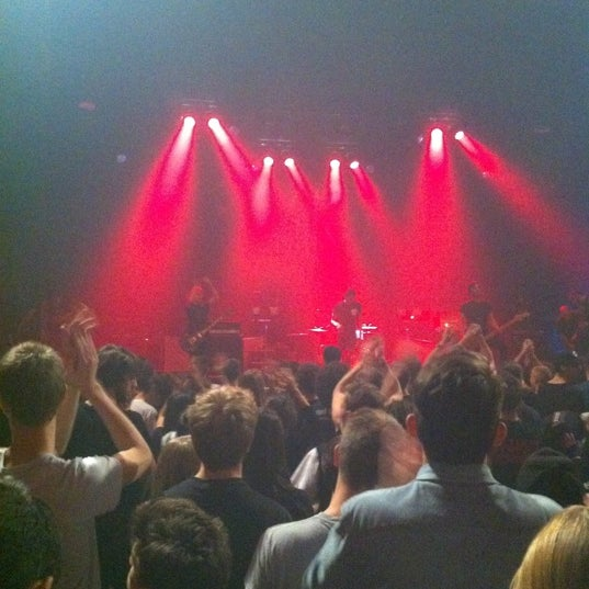 Photo taken at AB Ancienne Belgique by Marie-Charlotte H. on 10/28/2012