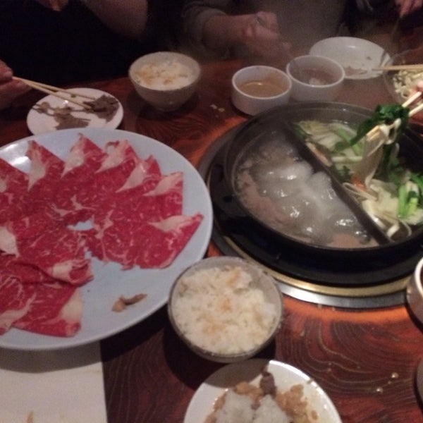 Photo taken at Shabu-Tatsu by Chiara M. on 1/30/2014