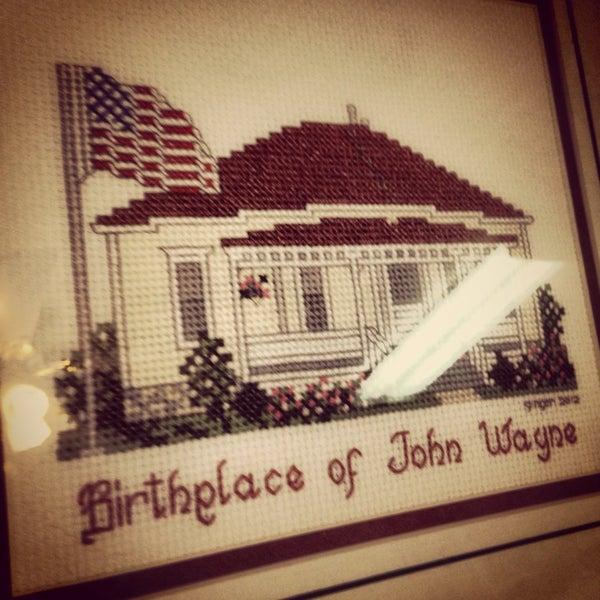 Photo taken at John Wayne Birthplace Museum by Sabrina on 5/29/2014