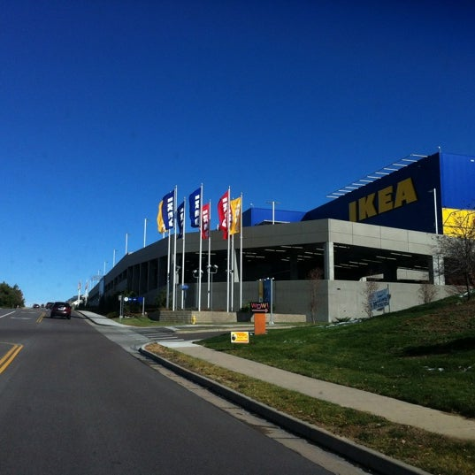 Photo taken at IKEA Centennial by Tanner S. on 10/27/2012