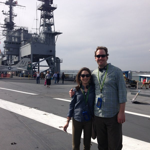 Photo taken at USS Midway Museum by Wallie M. on 3/20/2013