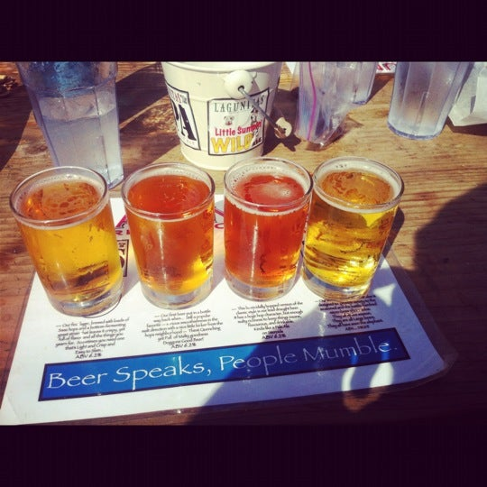 Photo taken at Lagunitas Brewing Company by Sergio R. on 10/13/2012