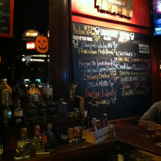 Photo taken at Waterfront Ale House by Alex R. on 10/24/2012