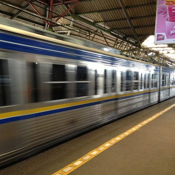 Photo taken at Stasiun Gambir by Felix S. on 1/12/2013