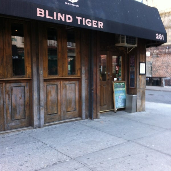 The Blind Tiger West Village New York Ny
