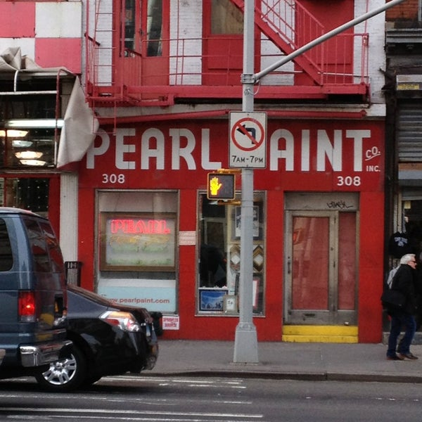 Pearl art craft supply now closed tribeca 308 canal st for Pearl arts and crafts closing