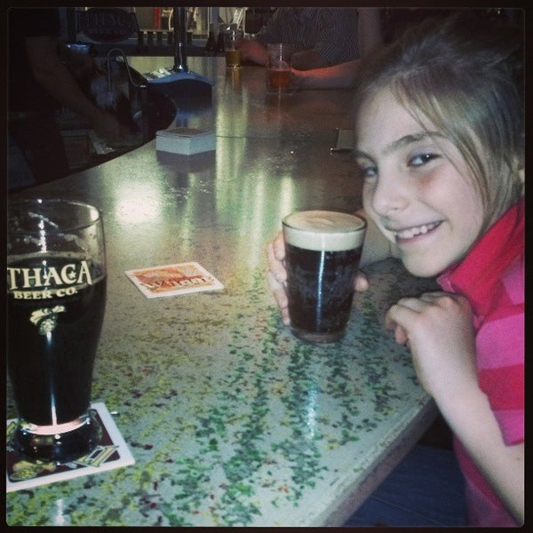Photo taken at Ithaca Beer Co. Taproom by Nathan R. on 5/2/2013