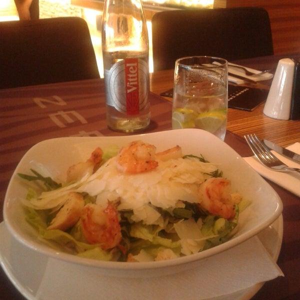 Photo taken at Zebra Café by Viktoria K. on 5/25/2014