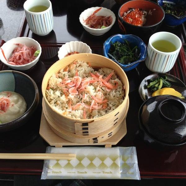 Photo taken at 食堂さくら屋 by hiratarahi on 3/20/2013