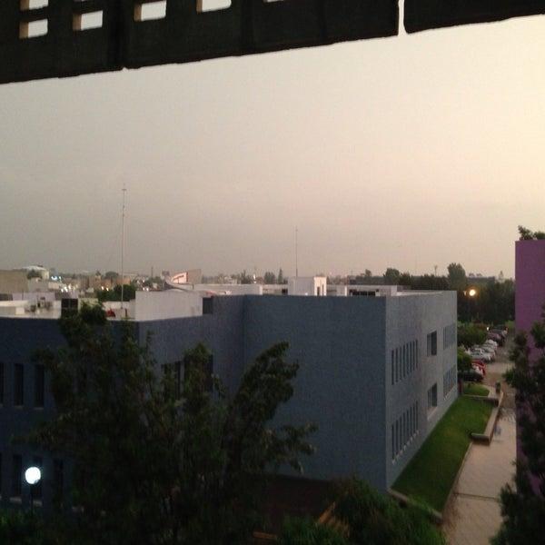 Photo taken at Universidad del Valle de Atemajac (UNIVA) by Nicolás C. on 6/17/2013