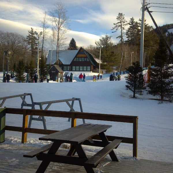 Photo taken at Pat's Peak Ski Area by Kenn K. on 1/24/2013