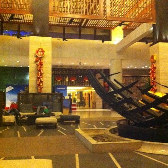 Photo taken at HowardJohnson Resort Sanya Bay by Sophie on 1/9/2012