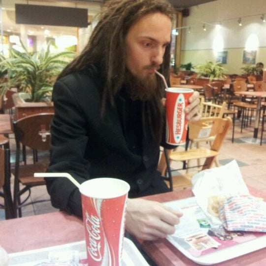 Photo taken at Hesburger Alfa by Toms T. on 10/1/2011