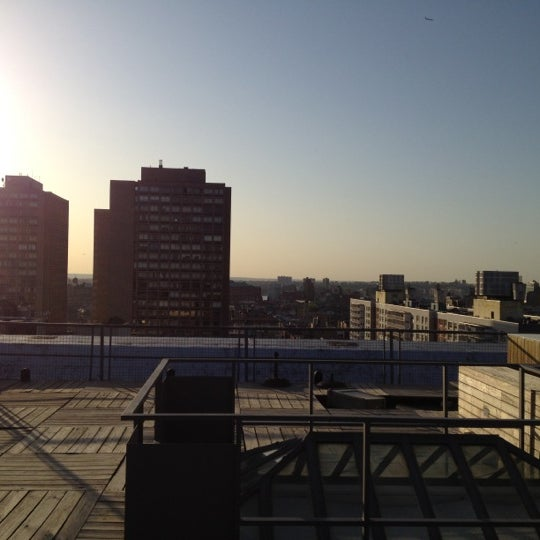 Photo taken at Meetup HQ Roof Deck by michael G. on 4/13/2012