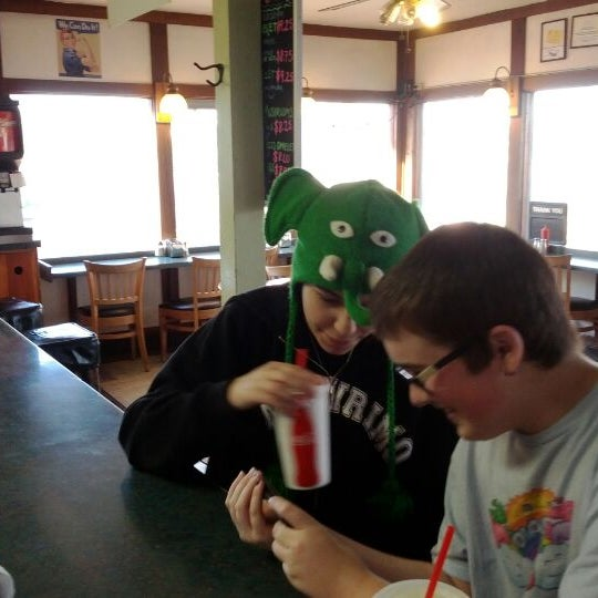 Photo taken at Great American Hamburger & Pie Co by L E. on 1/11/2012