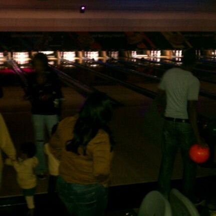Photo taken at AMF All Star Lanes by Racquelle M. on 10/3/2011