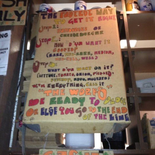 Photo taken at Burger Joint by Sloane F. on 6/24/2012