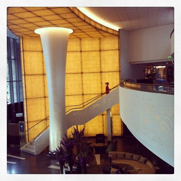 Photo taken at Kempinski Hotel Corvinus by Jackie W. on 6/25/2013